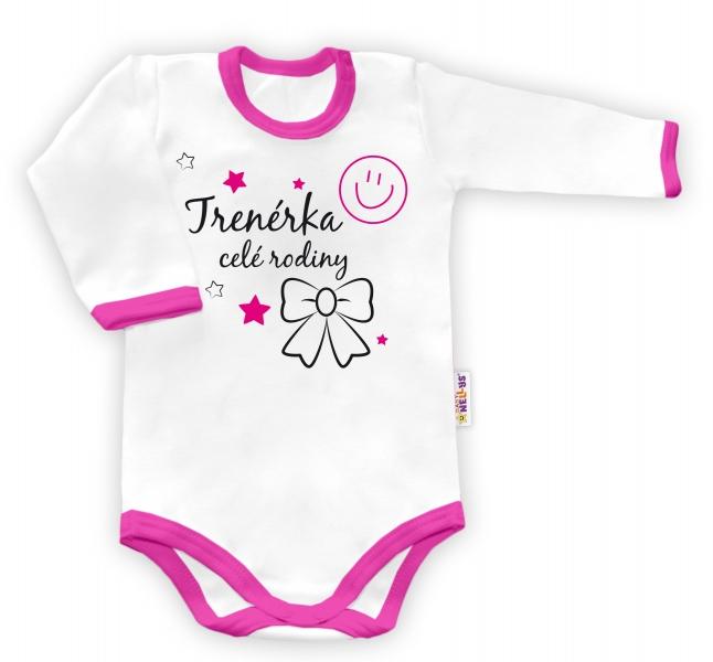 Baby Nellys Body dlouhý rukáv vel.