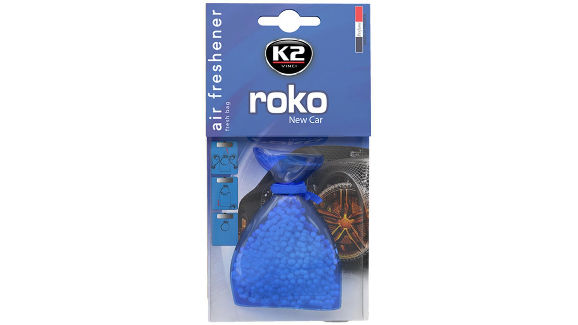K2 ROKO osvěžovač vzduchu - Nové auto 20g