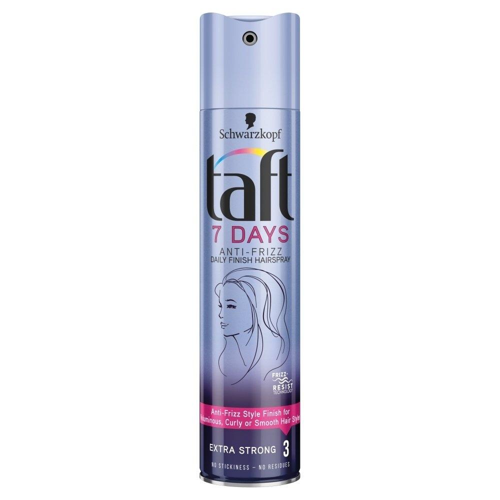 7 Days Anti-Frizz pro účes bez krepatění extra silná fixace lak na vlasy 250 ml