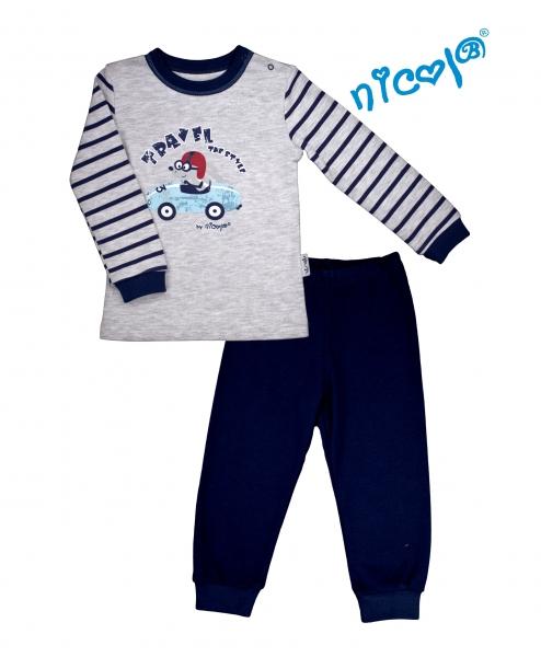 Dětské pyžamo Nicol, Car