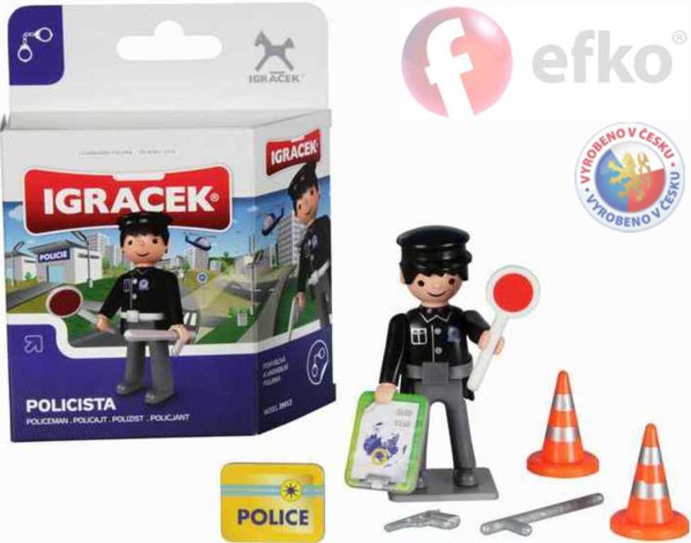 EFKO IGRÁČEK MINI SET Policista