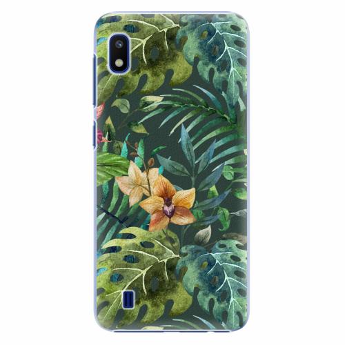 Plastový kryt iSaprio - Tropical Green 02 - Samsung Galaxy A10