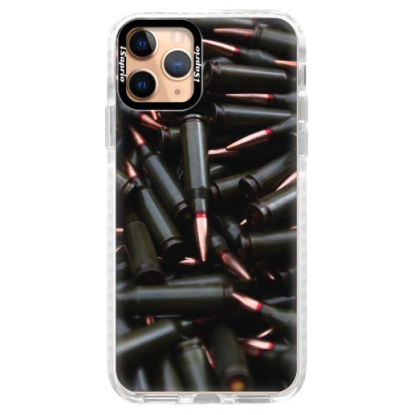 Silikonové pouzdro Bumper iSaprio - Black Bullet - iPhone 11 Pro
