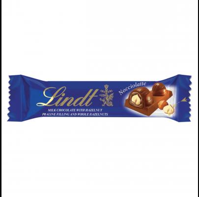 Lindt Lindor Noccionoir mléčná čokoládová tyčinka 40 g