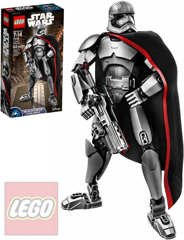 LEGO STAR WARS Akční figurka Captain Phasma 75118 STAVEBNICE