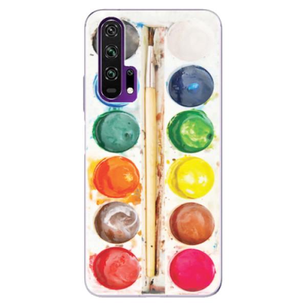 Odolné silikonové pouzdro iSaprio - Watercolors - Honor 20 Pro