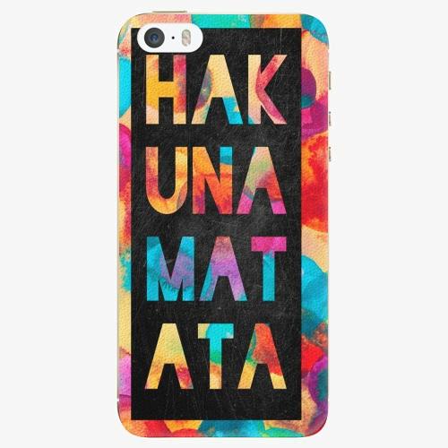 Plastový kryt iSaprio - Hakuna Matata 01 - iPhone 5/5S/SE