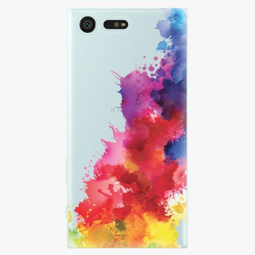 Plastový kryt iSaprio - Color Splash 01 - Sony Xperia X Compact