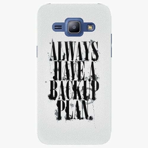 Plastový kryt iSaprio - Backup Plan - Samsung Galaxy J1