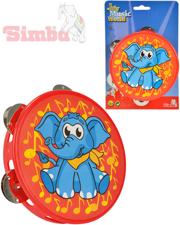SIMBA Tamburína sloník