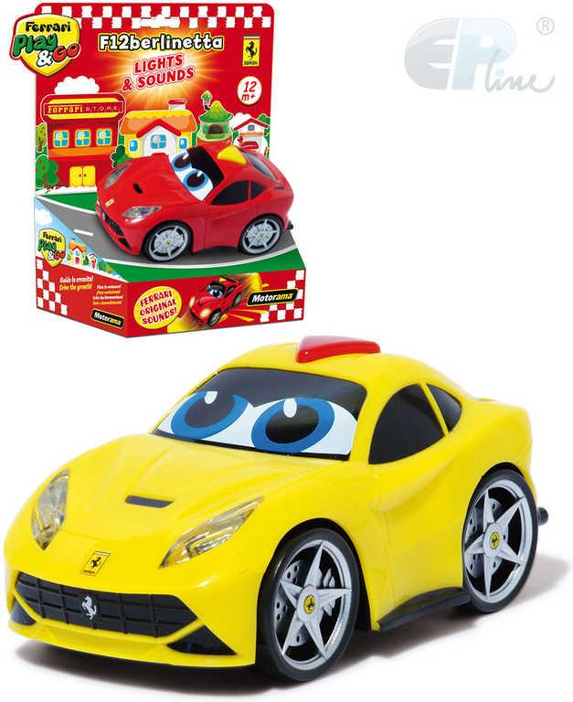 EP Line Baby autíčko Ferrari Berlinetta s očima 2 barvy