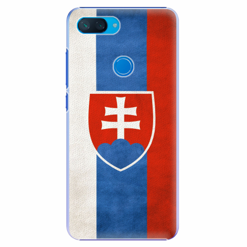 Plastový kryt iSaprio - Slovakia Flag - Xiaomi Mi 8 Lite