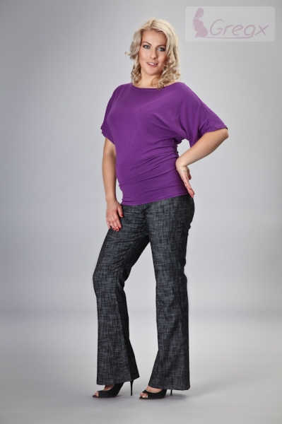 gregx-elegantni-tehotenske-kalhoty-jeans-cerny-melir-l-40