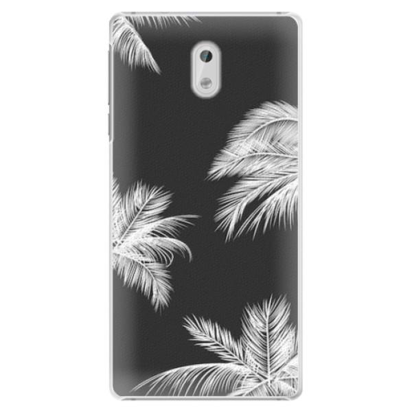 Plastové pouzdro iSaprio - White Palm - Nokia 3