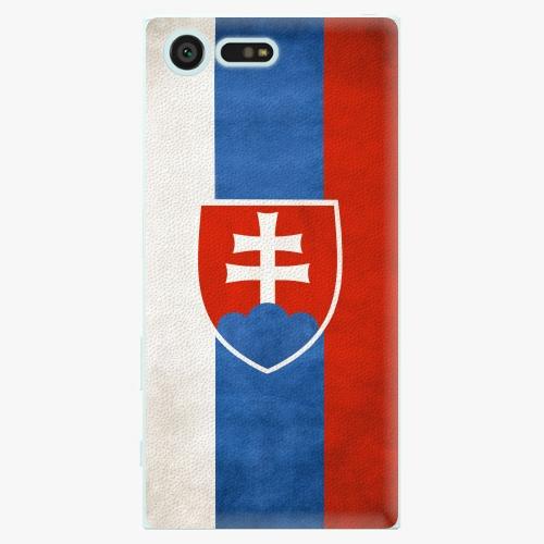 Plastový kryt iSaprio - Slovakia Flag - Sony Xperia X Compact