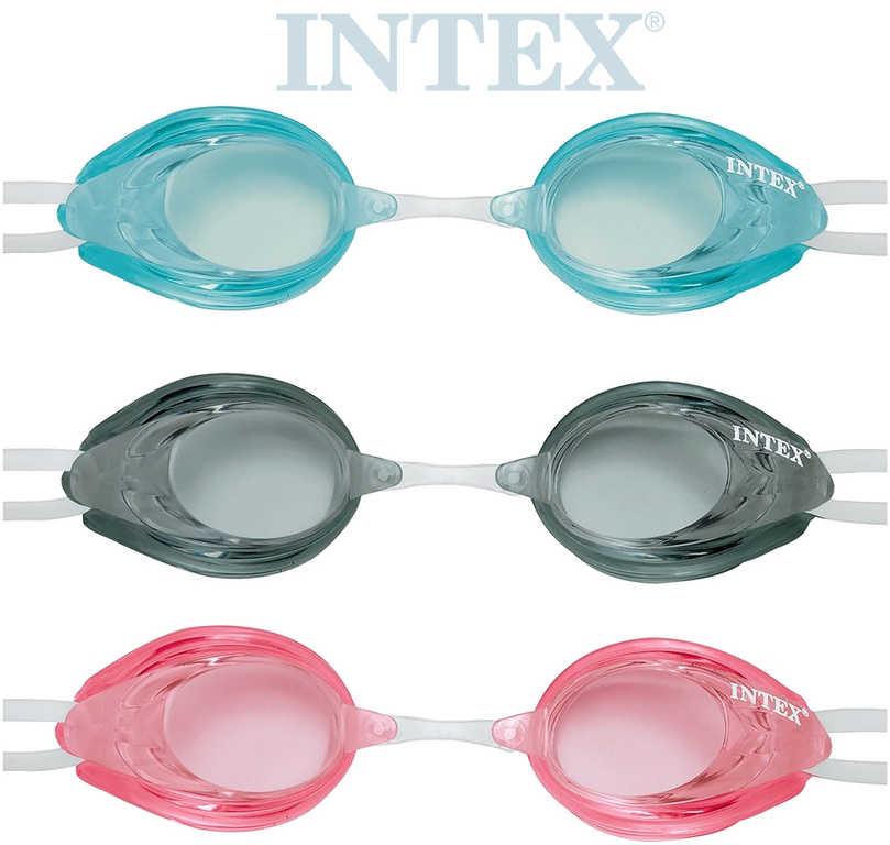 INTEX Brýle dětské na plavání Relay Sport do vody s UV ochranou 3 barvy 55684