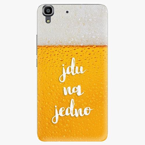 Plastový kryt iSaprio - Jdu na jedno - Huawei Ascend Y6