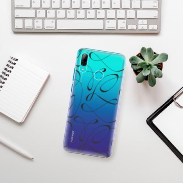 Plastové pouzdro iSaprio - Fancy - black - Huawei P Smart 2019
