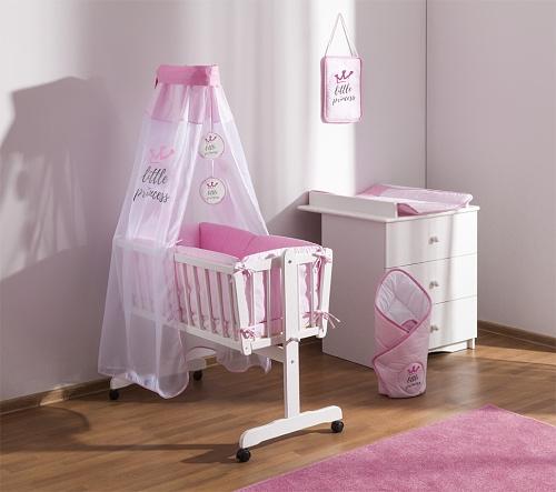baby-nellys-9-dilna-sada-do-kolebky-little-princess-zavinovacka-ruzova