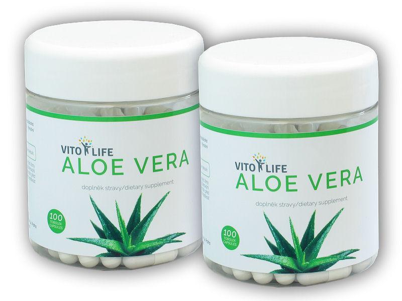 2x Aloe Vera 100 kapslí
