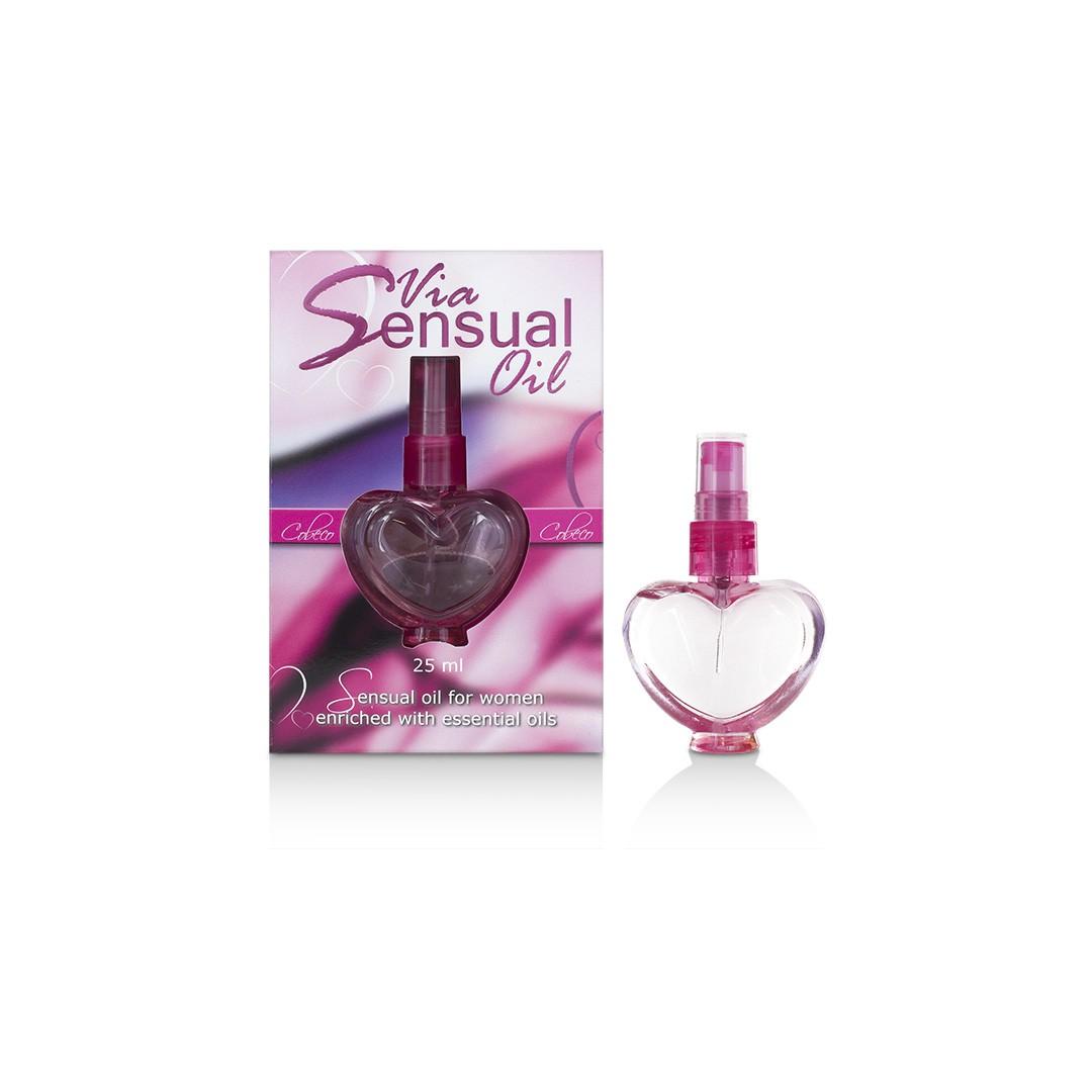 Via Sensual erotický olej 25 ml