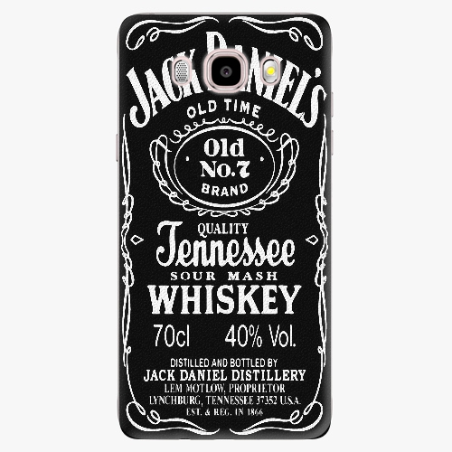 Plastový kryt iSaprio - Jack Daniels - Samsung Galaxy J5 2016