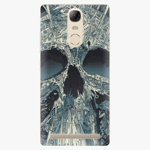 Plastový kryt iSaprio - Abstract Skull - Lenovo K5 Note