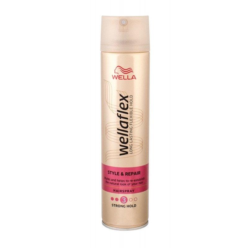 Wellaflex Style &Repair silné zpevnění lak na vlasy 250 ml