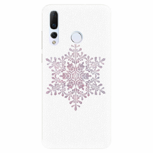 Silikonové pouzdro iSaprio - Snow Flake - Huawei Nova 4