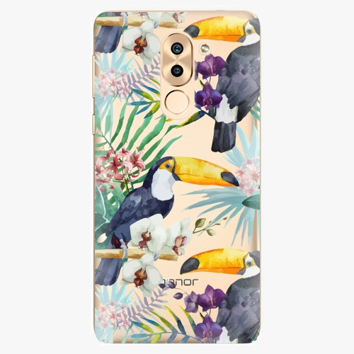 Plastový kryt iSaprio - Tucan Pattern 01 - Huawei Honor 6X
