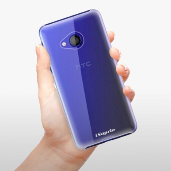 Plastové pouzdro iSaprio - 4Pure - mléčný bez potisku - HTC U Play