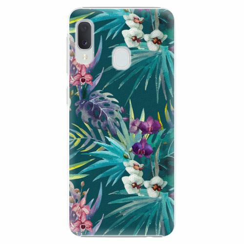 Plastový kryt iSaprio - Tropical Blue 01 - Samsung Galaxy A20e