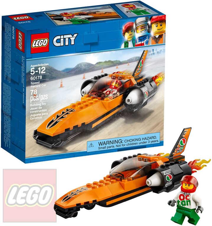 LEGO CITY Rychlostní auto STAVEBNICE 60178