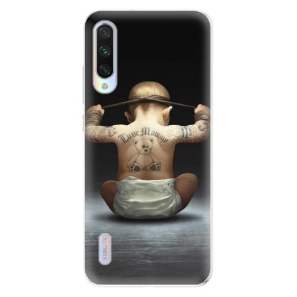 Odolné silikonové pouzdro iSaprio - Crazy Baby - Xiaomi Mi A3