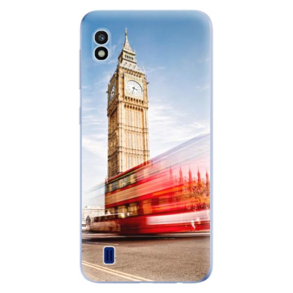 Odolné silikonové pouzdro iSaprio - London 01 - Samsung Galaxy A10