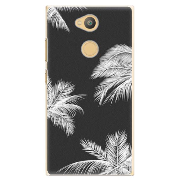 Plastové pouzdro iSaprio - White Palm - Sony Xperia L2
