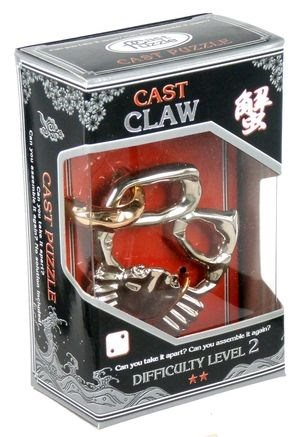 Hlavolam Hanayama Silver - Claw