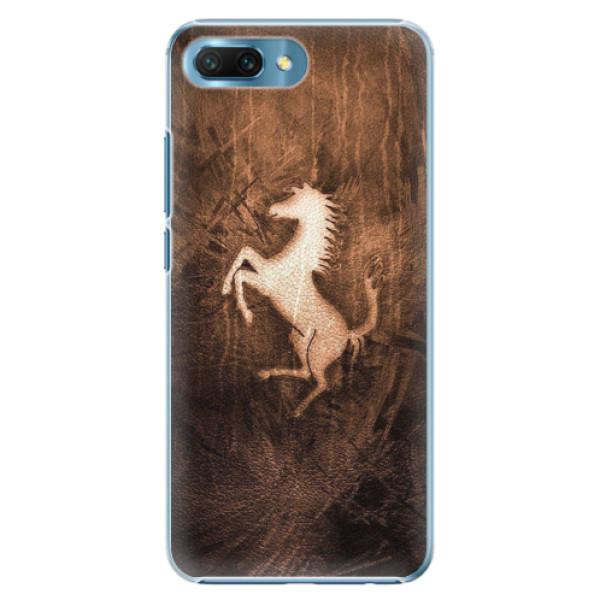 Plastové pouzdro iSaprio - Vintage Horse - Huawei Honor 10