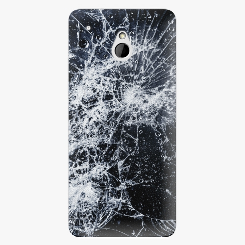 Plastový kryt iSaprio - Cracked - HTC One Mini