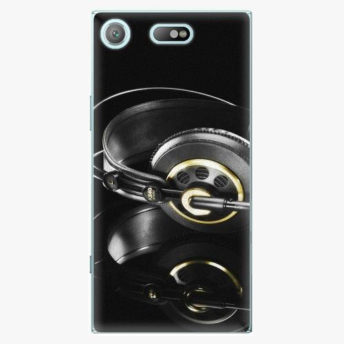 Plastový kryt iSaprio - Headphones 02 - Sony Xperia XZ1 Compact