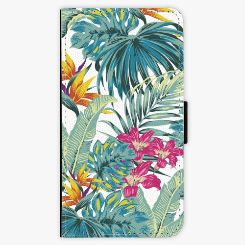 Flipové pouzdro iSaprio - Tropical White 03 - Samsung Galaxy S7