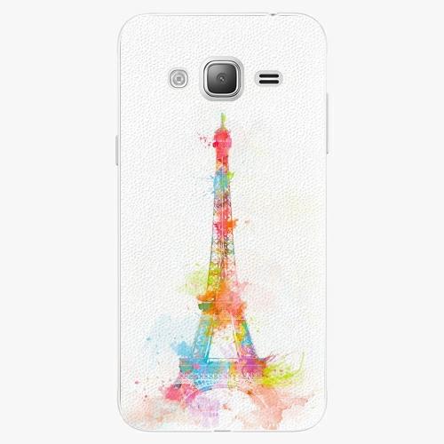 Plastový kryt iSaprio - Eiffel Tower - Samsung Galaxy J3 2016
