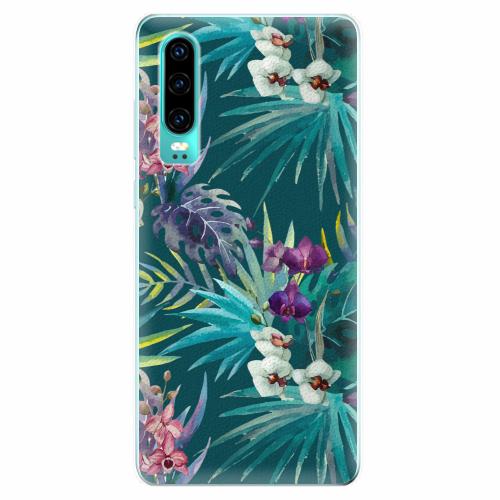 Silikonové pouzdro iSaprio - Tropical Blue 01 - Huawei P30