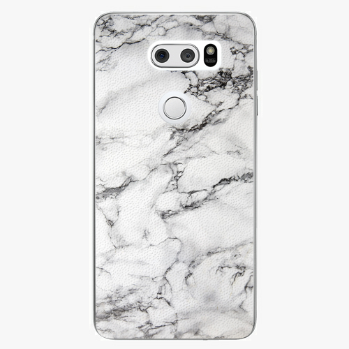 Plastový kryt iSaprio - White Marble 01 - LG V30
