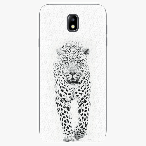 Plastový kryt iSaprio - White Jaguar - Samsung Galaxy J7 2017