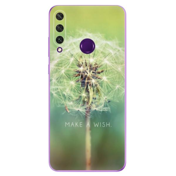 Odolné silikonové pouzdro iSaprio - Wish - Huawei Y6p