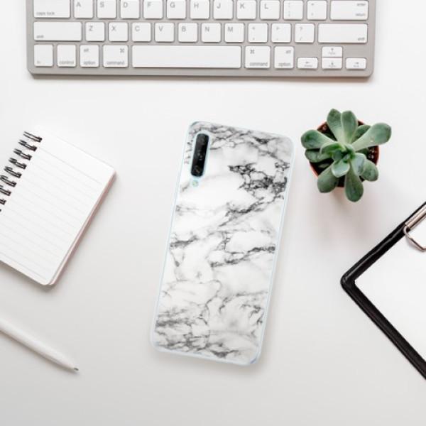 Odolné silikonové pouzdro iSaprio - White Marble 01 - Huawei P Smart Pro