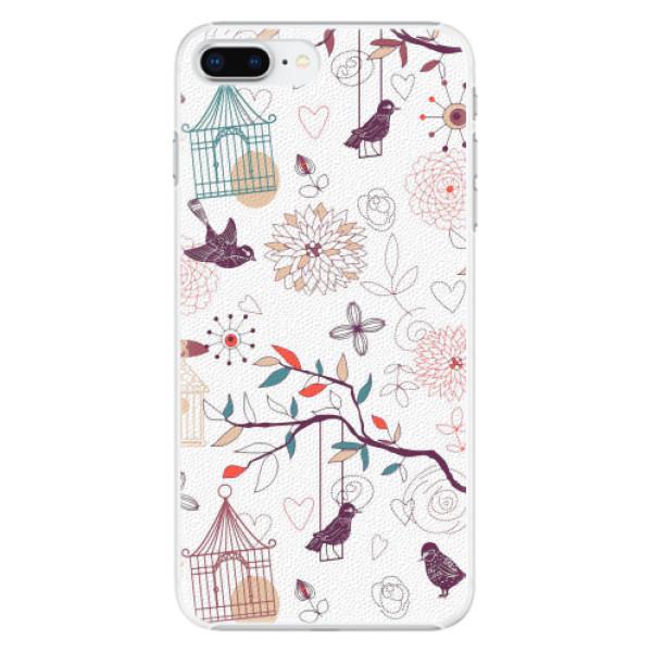 Plastové pouzdro iSaprio - Birds - iPhone 8 Plus
