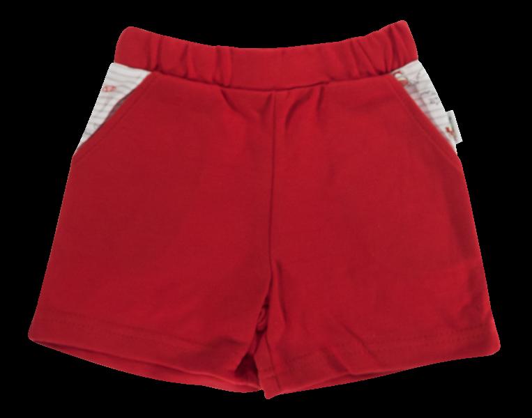 Kojenecké bavlněné kalhotky, kraťásky Mamatti Pirát