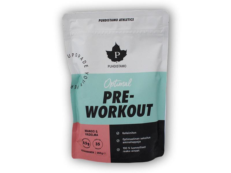 Pre-Workout Caffeine Free 350g-mango-malina
